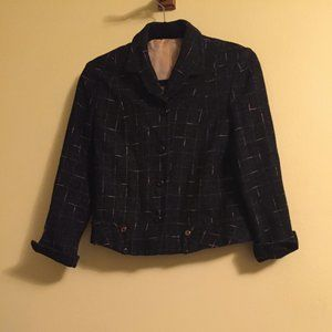Jackets & Blazers - Vintage 1960s lined wool jacket with pink